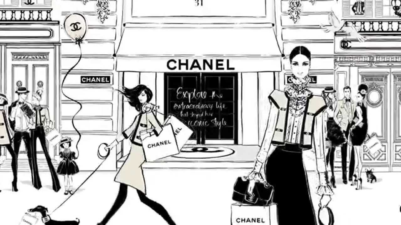 Coco Chanel: The Illustrated World of a Fashion Icon by ...